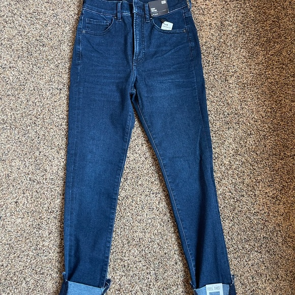 Express Skinny High Rise Luxe Comfort Jeans